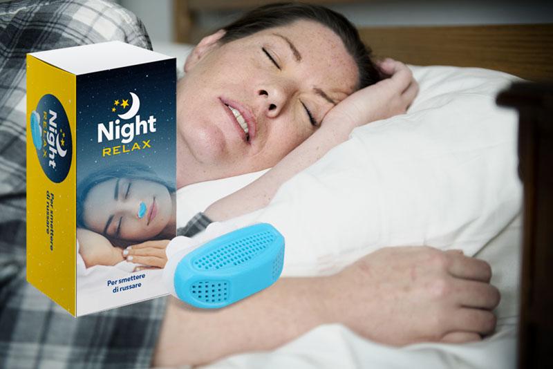 nightrelax per smettere di russare
